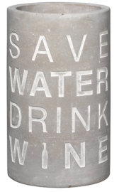 wine cooler save water