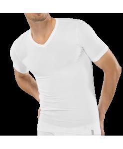 205429-100-Schiesser-95_5-Pima-Cotton-weisses-Kurzarmshirt-fuer-Herren
