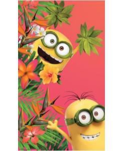 Minions flower strandlaken