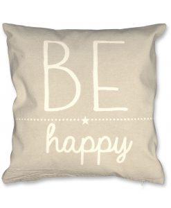 Be Happy cushion Pebble HR