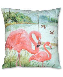 Flamingo cushion no 2