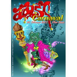 Gesloten wegens Aalst Carnaval – Steleman in de stoet!
