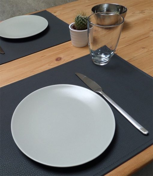 Lederlook placemat