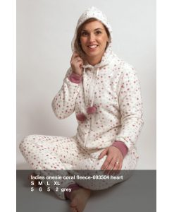 Onesie fleece amore