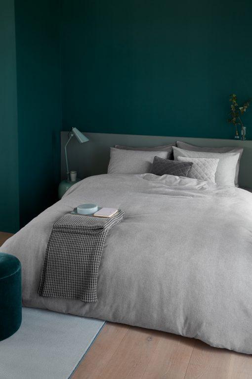 Bedding House dekbedovertrek Frost Light Grey