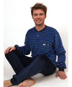 Pyjama velours heren brooklyn Outfitter