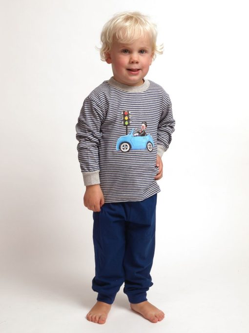 Pyjama Outfitter kids jersey korte broek clown
