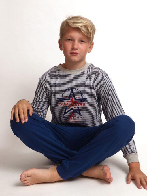 Pyjama jersey super boys lange broek