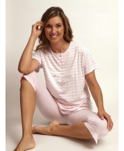 Pyjama Cocodream weekend dames