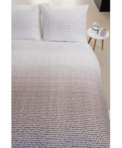 Graphic Disorder Grey dekbedovertrek Bedding House