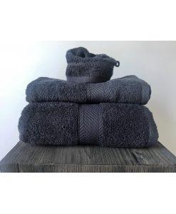 Handdoeken De Witte Lietaer Ebony - Grey