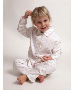 Cocodream pyjama flanel girls strikjes