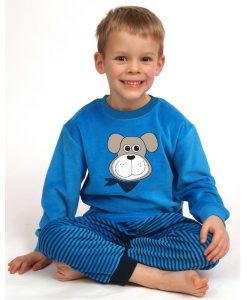 Outfitter Pyjama velours jongens woef