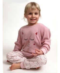 Pyjama Cocodream polar/flanel girls rings