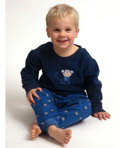 Pyjama Outfitter polar/flanel boys aapje