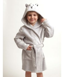 Kinderkamerjas Cocodream fleece lion