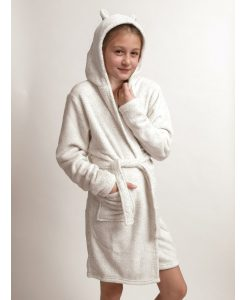 Kinderkamerjas Cocodream fleece panter