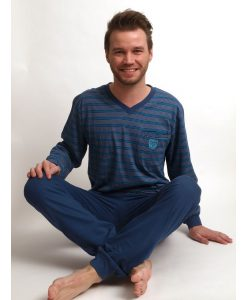 Herenpyjama Outfitter jersey model yarn