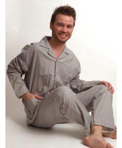 Pyjama Outfitter flanel wicker heren