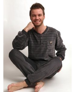 Herenpyjama Outfitter velours model twenty
