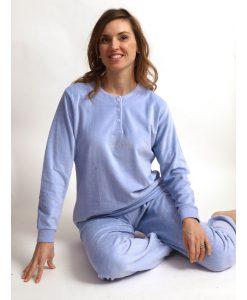Cocodream pyjama velours hello weekend