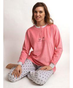 Pyjama velours so happy to see you