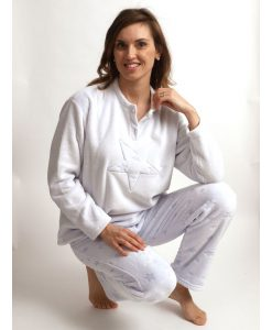 Pyjama Cocodream coral fleece star