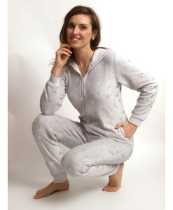 Cocodream onesie coral fleece silver