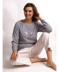 Pyjama Cocodream polar flanel alpaca