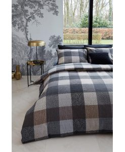 Bedding House dekbedovertrek Becket Grey