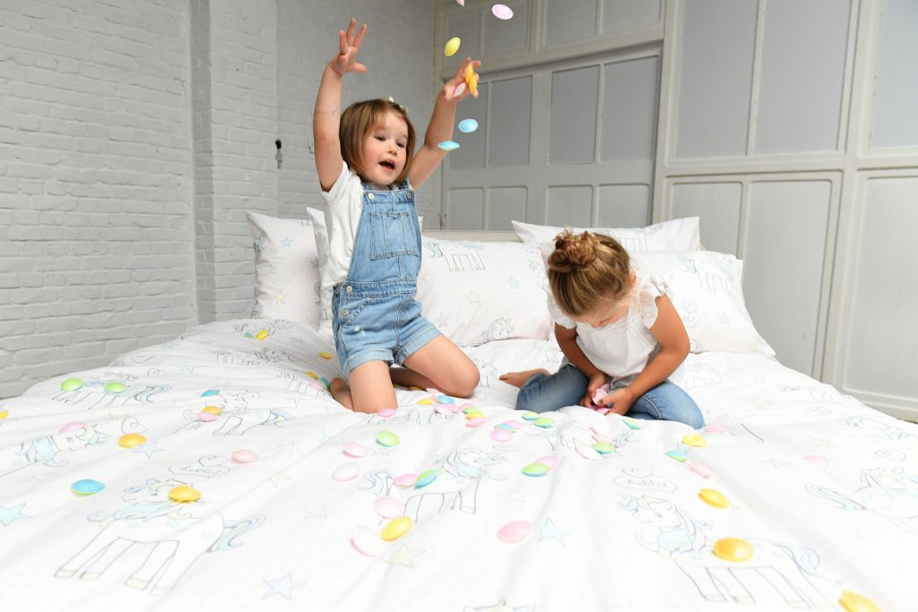 Kinderdekbedovertrek Unicorn - Passion Home Linen - feest
