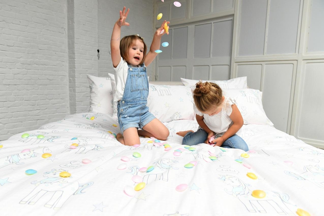Kinderdekbedovertrek Unicorn - Passion Home Linen - feest
