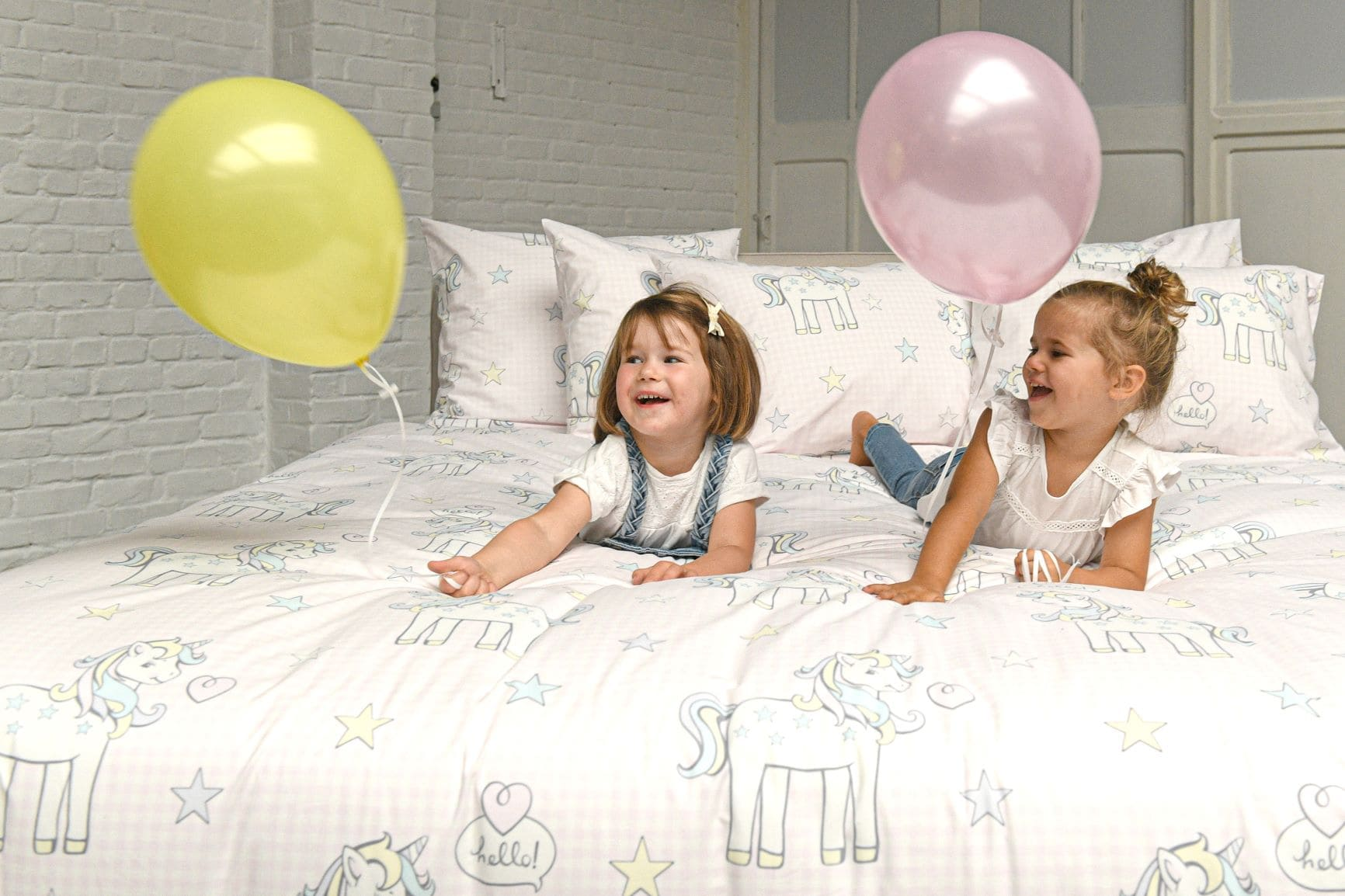 Kinderdekbedovertrek Unicorn - Passion Home Linen