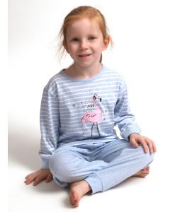 Pyjama Cocodream lange mouwen kids pink dreams flamingo