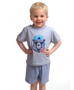 Pyjama Outfitter korte mouwen kids bear