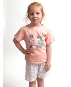 pyjama korte mouwen kinderen eenhoorn cocodream