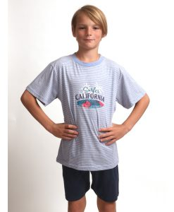 Pyjama Outfitter korte mouwen kids california surfer