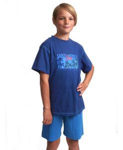 Pyjama Outfitter korte mouwen kids surfer jersey