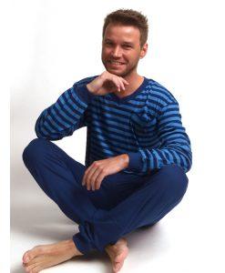 Pyjama Outfitter lange mouwen heren ocean