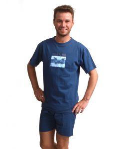 Pyjama Outfitter korte mouwen heren surfing
