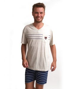 Pyjama Outfitter korte mouwen heren old sailor