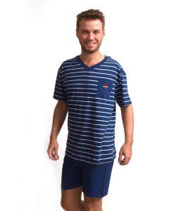 Pyjama Outfitter korte mouwen heren sailor