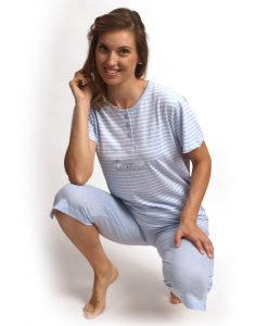 Pyjama Cocodream 3/4 broek dames sea treasure