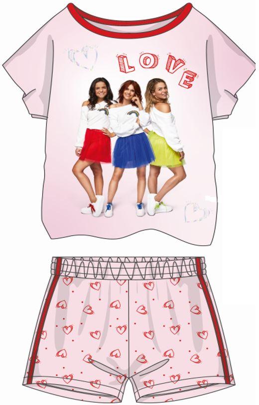 K3 pyjama korte mouwen en short Love