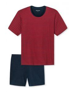 Schiesser pyjama korte mouwen Red John