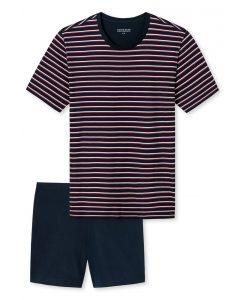 Schiesser pyjama korte mouwen Ian