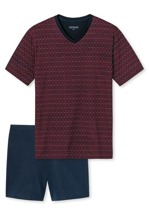 Schiesser pyjama korte mouwen Liam V
