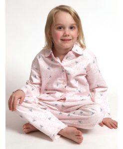 Pyjama Cocodream lange mouwen kids vosjes flanel