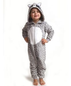 Onesie kids fleece raccoon Outfitter