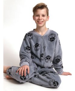 Onesie kids monkey dude fleece Outfitter